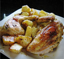 Verdicchio Roasted Chicken and Potatoes